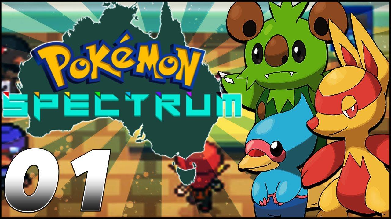 fangame pokémon spectrum episode 01 pokémon en australie