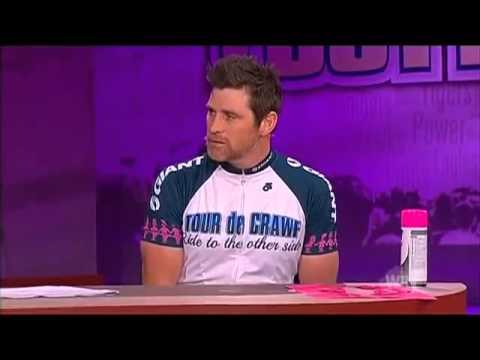 Tour de Crawf : AFL Footy Show Interview