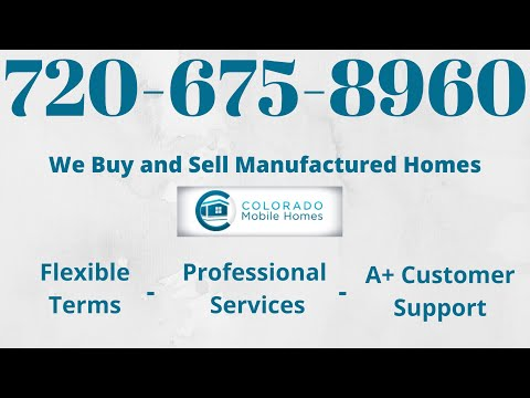 Double Wide Mobile Homes for Sale in Colorado - YouTube