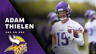 Adam Thielen Details Excitement For New Offense, Continuity With Kirk Cousins In Year 2 | Vikings