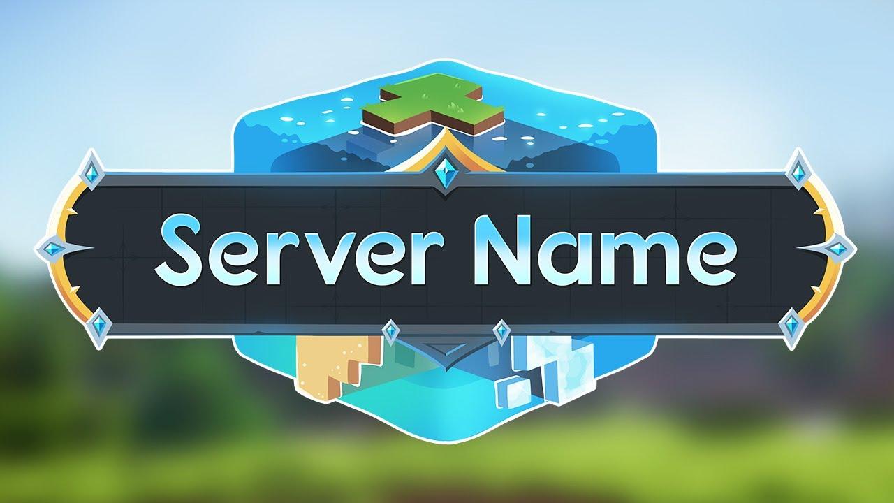 Minecraft Server Logo Earth Cube (Template Logo Maker) YouTube