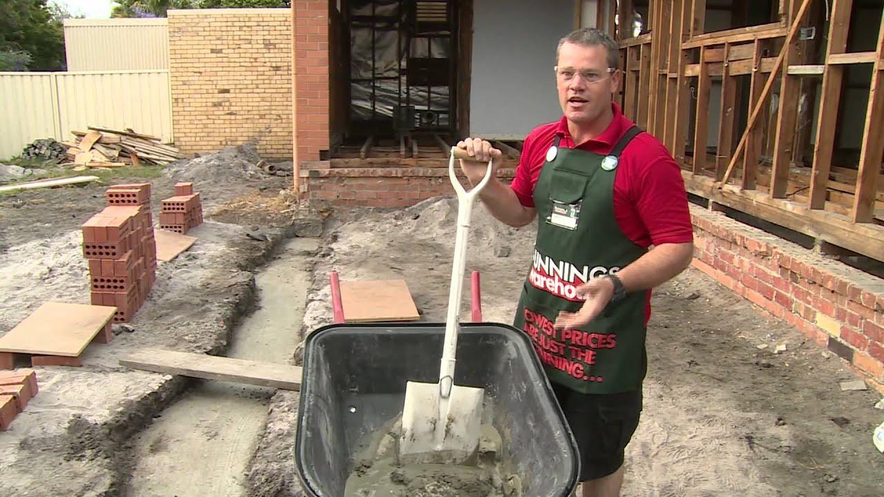 How To Mix Mortar - DIY At Bunnings - YouTube