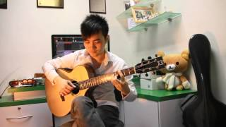 《等一個人咖啡》電影主題曲【缺口】吉他獨奏 (Steven Law)