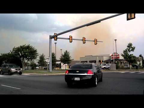 Tornado central park fredericksburg virginia