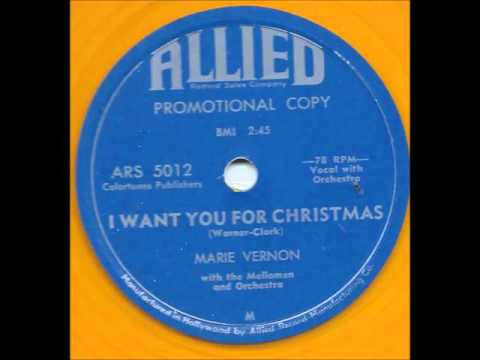 I Want You For Christmas