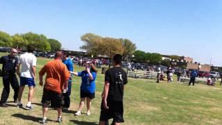 Garland Soccer Association U7G Drama Fight-Parent-
