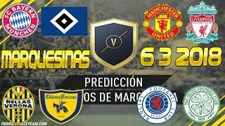 TRADEO PREDICCIÓN MARQUESINAS 6/3/2018 // FIFA 18