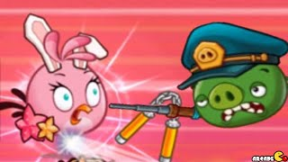 Angry Birds Fight! RPG Puzzle - Impossible Level INVADE DR. PIG