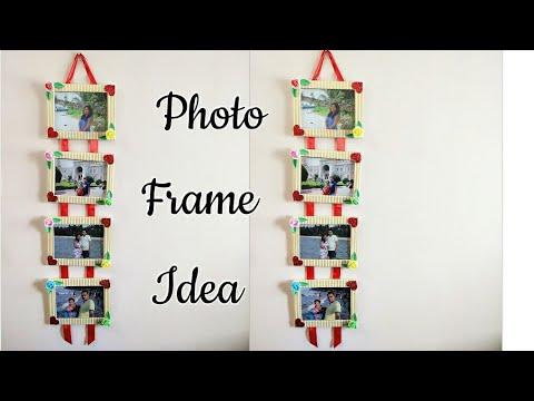 Cardboard Photo Frames/How to make Photo Frame at Home/Photo Frame Making Ideas