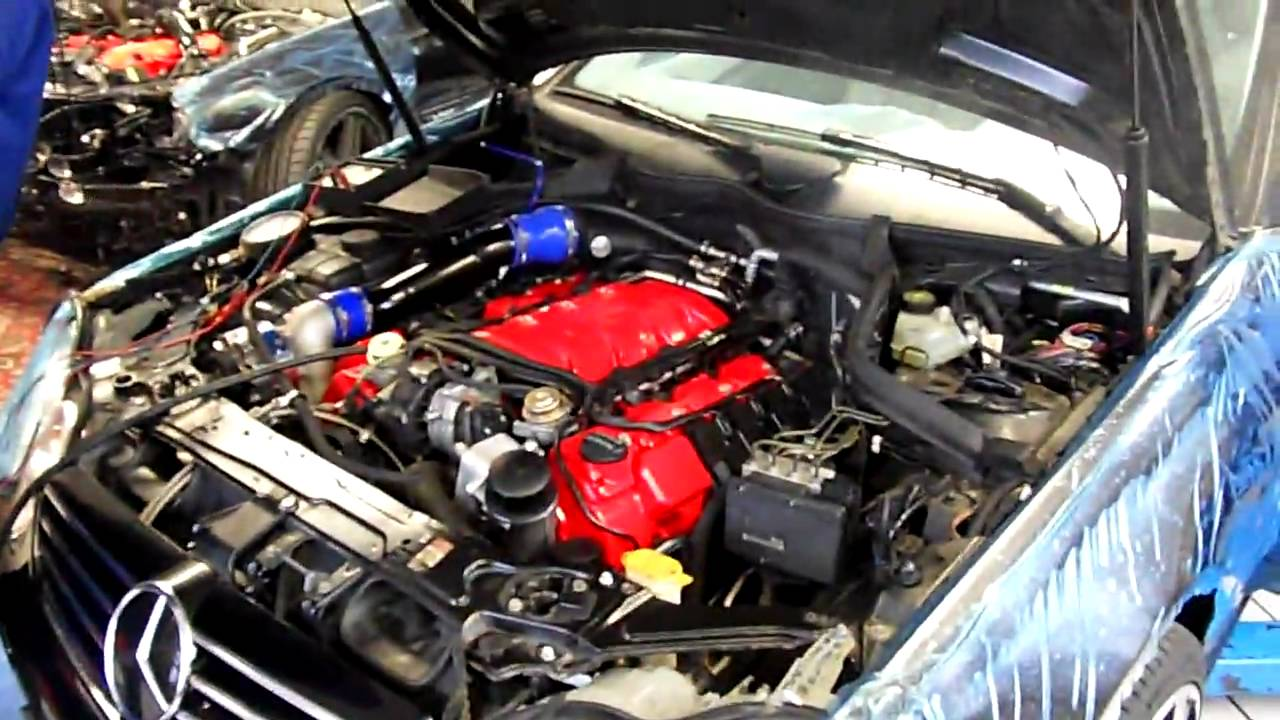 E55 supercharger + twin turbo!!! - MBWorld org Forums