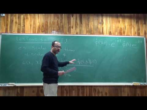 Quantum Field Theory II Lecture 1