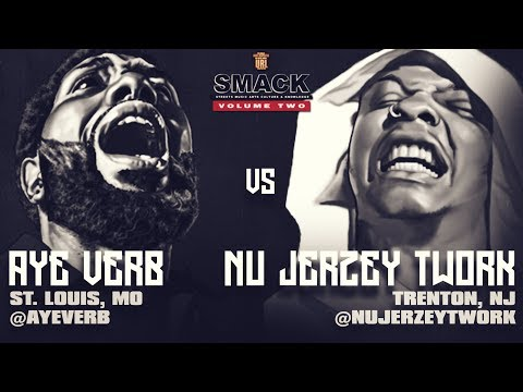 AYE VERB VS NU JERZEY TWORK SMACK/ URL RAP BATTLE | URLTV