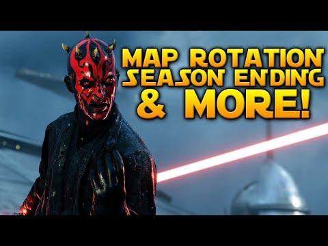 MAP ROTATION UPDATE, SEASON ENDING & MORE - Star Wars Battlefront 2