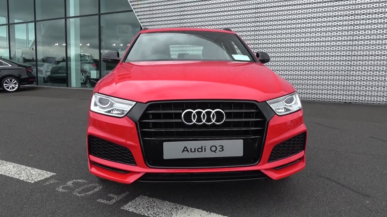 cmg audi sligo new 2017 audi q3 2 0tdi s line black edition 120bhp 055777 youtube. Black Bedroom Furniture Sets. Home Design Ideas