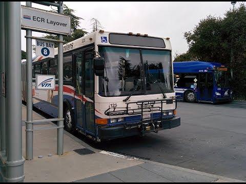 samTrans ECR RWC-Palo Alto NABI #125