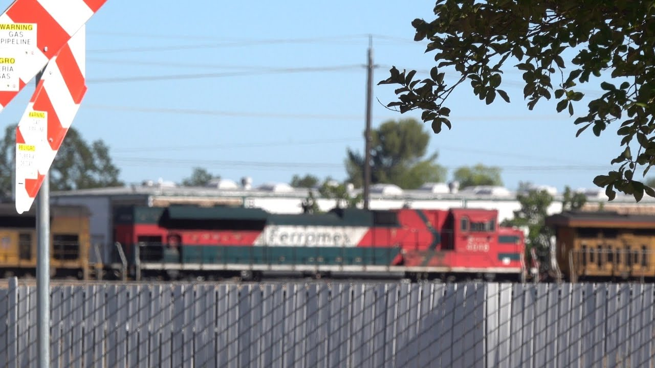 Extra Trains At McClellan Business Park In North Highlands, Sacramento CA
