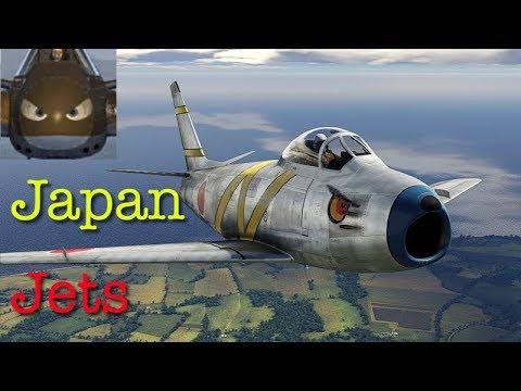 War Thunder SIM - Japan Jets - Channel Map