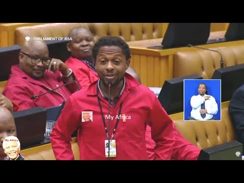 Ndlozi Protects Julius Malema - Commander In Chief