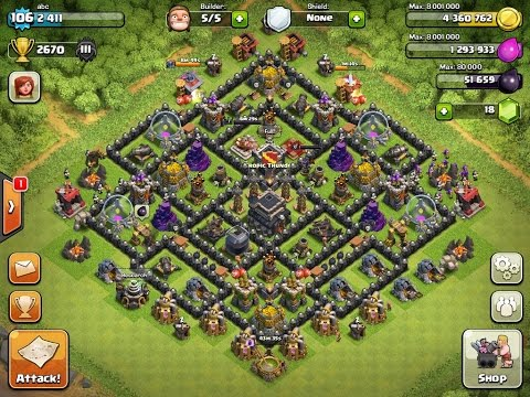 OMG 100% working th9 clash of clan email and password  working in 2017