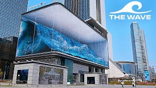 The WAVE - Worlds Largest Anamorphic Illusion