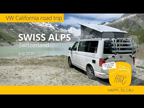 VW California Swiss Alps 2020