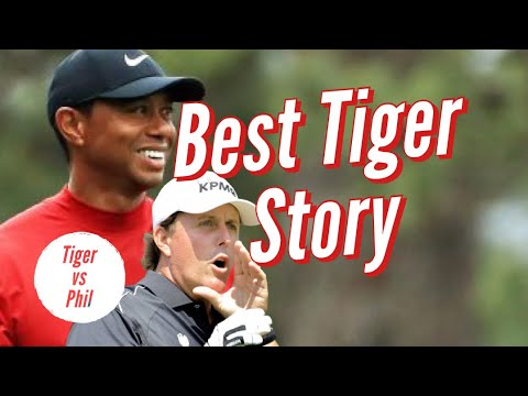 Tiger Woods Tells Hilarious Phil Mickelson Story