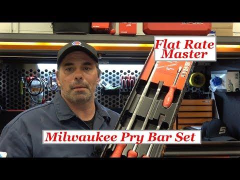 Milwaukee Pry Bar Set