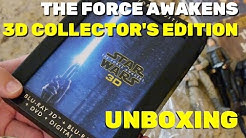 Star Wars: The Force Awakens 3D Blu-ray Collector's Edition unboxing