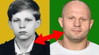 Fedor Emelianenko From 1 to 40 years old