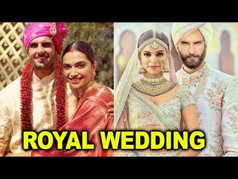 Deepika Padukone and Ranveer Singh's Grand Royal Wedding ❤  November 2018