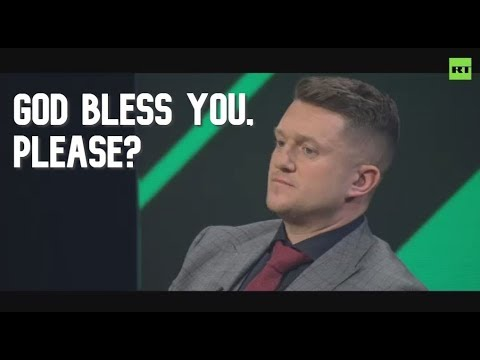 Tommy Robinson brings his 'Rape of Britain' lecture to Russia | Worlds Apart