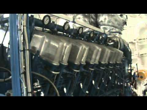 Tug Brent main engines 2X ABC 12vdzc 7200hp