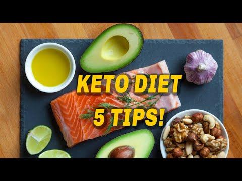 Keto Diet - 5 Tips!