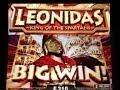 **MEGA WIN** LEONIDAS -KING of the SPARTANS- slot machine HUGE BONUS WIN!