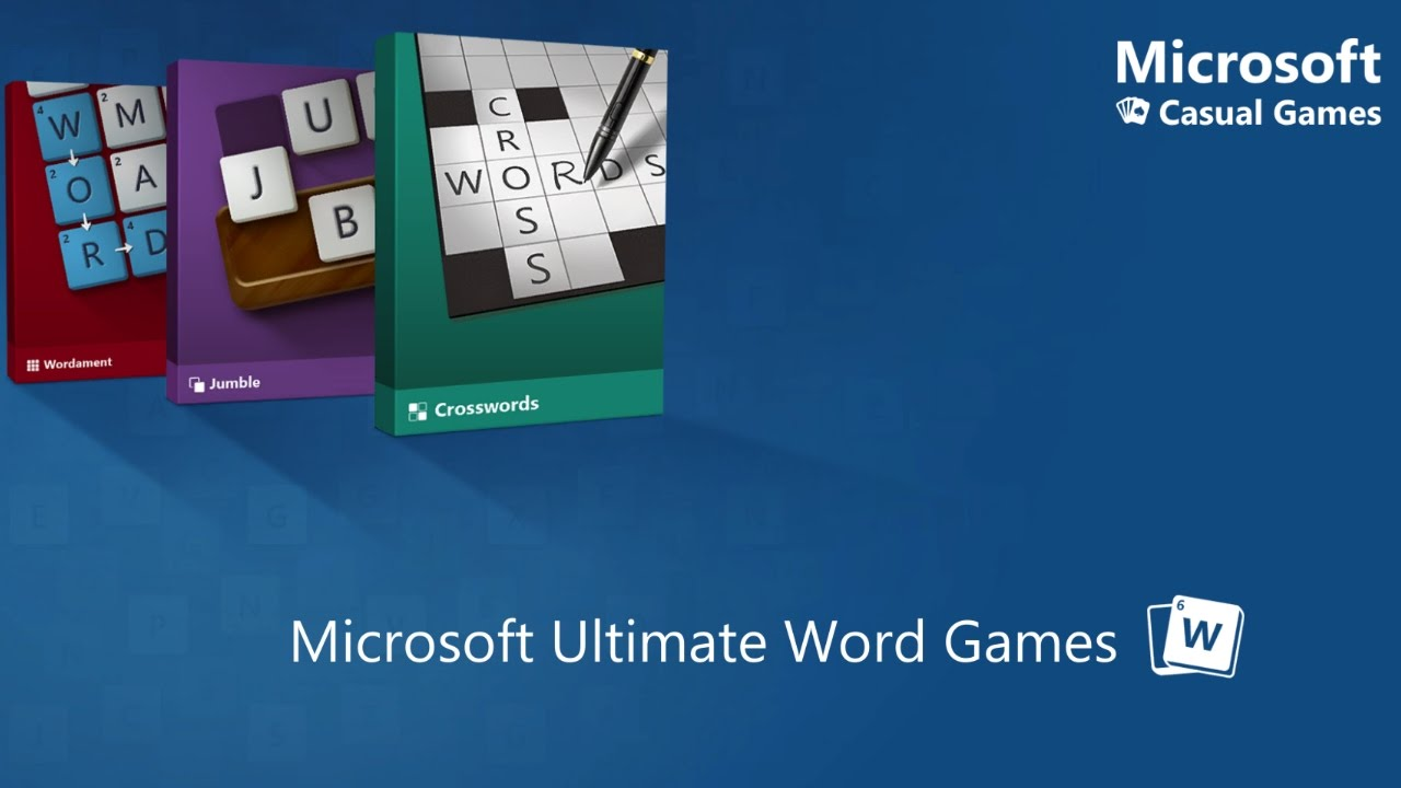Looking at Microsoft's newest word game: Microsoft Ultimate Word Games!