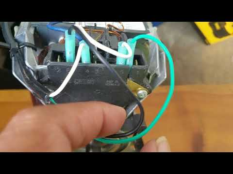 dryer motor wiring for diy purposes
