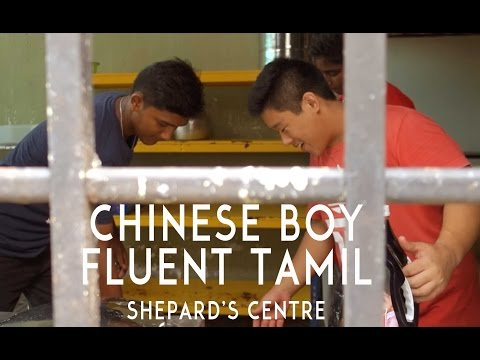 CHINESE BOY SPEAKS FLUENT TAMIL | Project School Bag