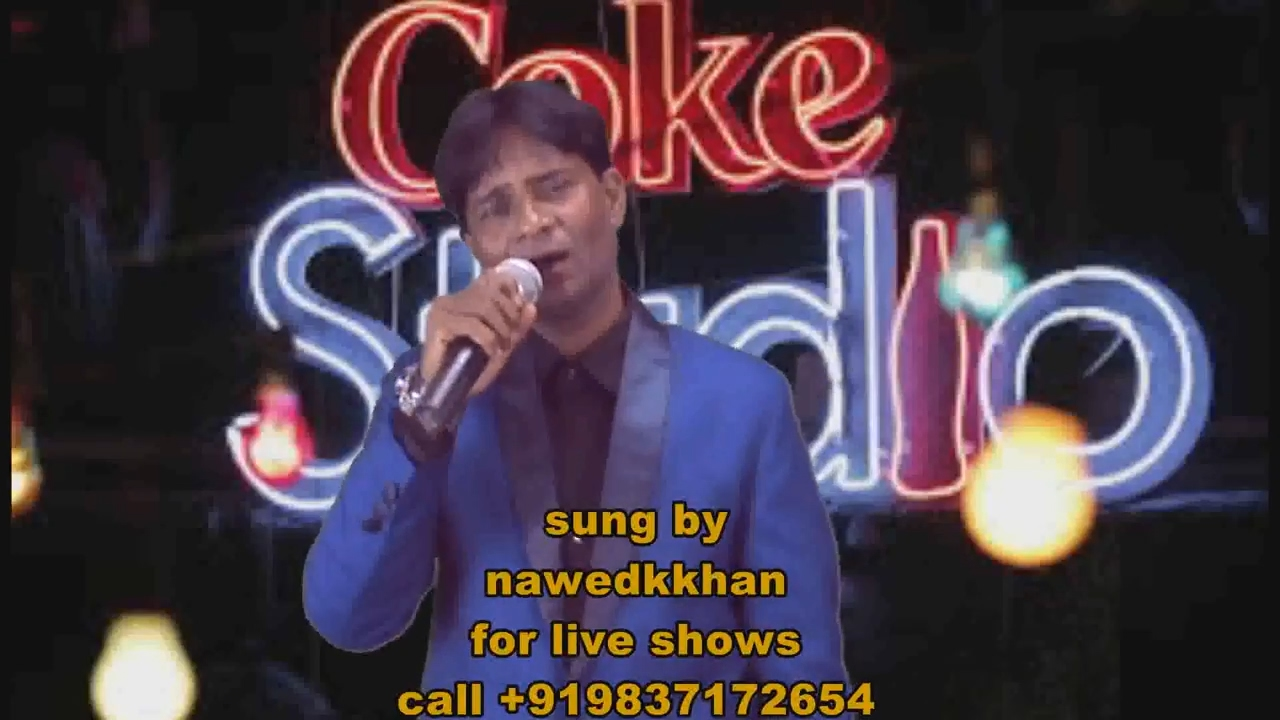 Manzilen Apni Jagah Hain Raaste  kishor kumar song movie sharabi cover sung by nawedkkhan