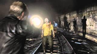 Resident Evil 6, Leon Gameplay (Comic Con)