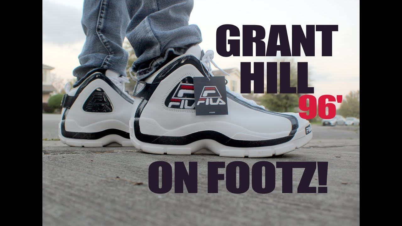 Dj Emtee Fila 96 aka Grant Hill 2 shoe review and unboxing
