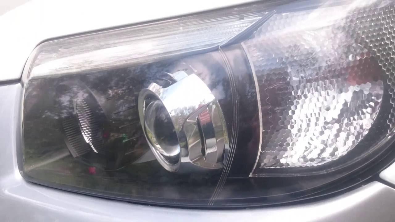 Завершенный проект - реставрация фар Subaru Forester SG рестайлинг vs Hella 4 Intemo