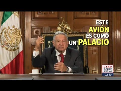 López Obrador presume rifa del Avión Presidencial en la ONU