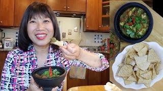 Bí quyết cắt trái bơ không bị thâm, làm món ăn vặt salsa( Người Việt ở Mỹ)