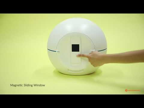 Foldio360 Smart Dome - How to Use Front & Top Cover