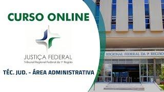 Apresentação do curso Online para o Concurso do Tribunal Regional F...