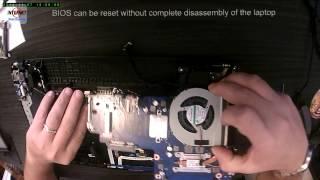 Samsung NP270E5E - Reset BIOS [How To]