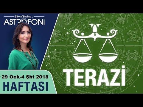 Terazi Burcu Haftalık Astroloji Ve Burç Yorumu, 29 Ocak-4 şubat 2018, Astrolog Demet Baltacı.