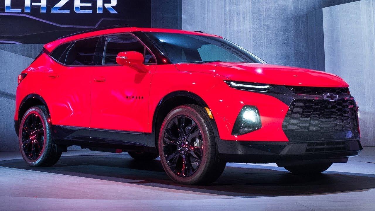 2019 Chevrolet Blazer Reveal - YouTube
