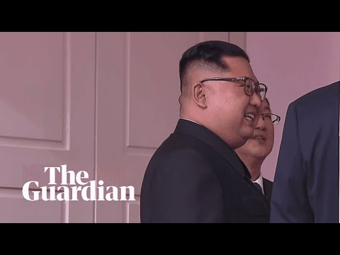 'A scene from a sci-fi movie': what Kim told Trump about their meeting