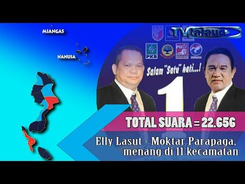 PLENO KPUD TALAUD Hasil Perhitungan Perolehan Suar Pilkada Talaud 2018